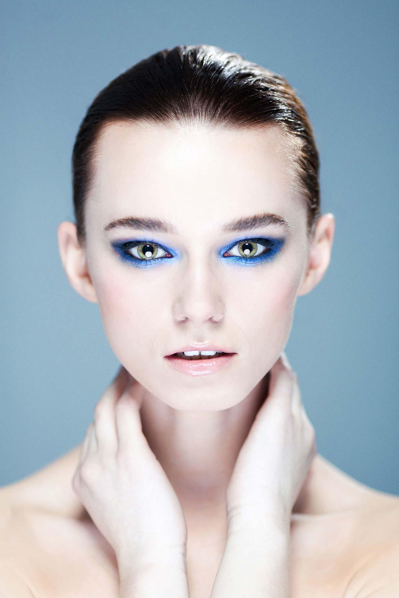 makijaż wieczorowy wykonany przez katarzynę zielinska z krakowa